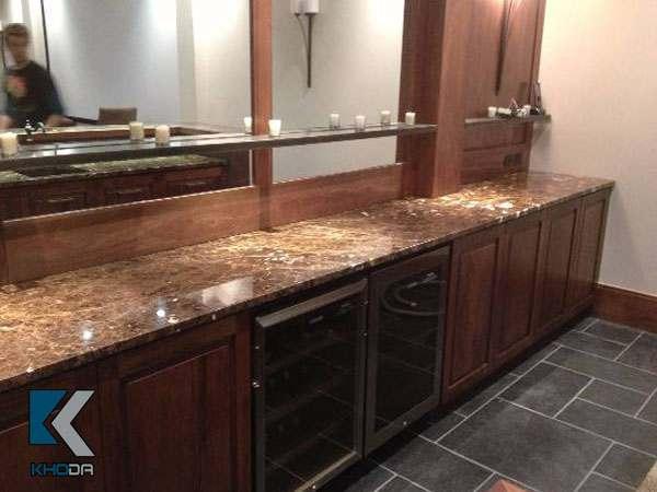 Đá ốp bếp bằng chất liệu đá marble