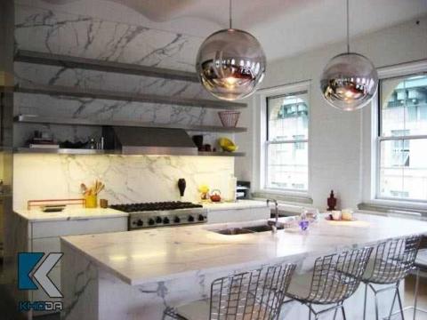 Đá mặt bếp loại nào tốt? kinh nghiệm mua mặt đá tủ bếp