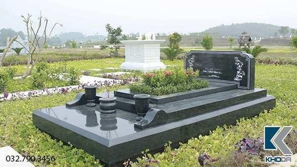 Hình ảnh mẫu mộ đá granite